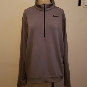 Nike Gray 1/4 Zip Up